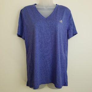 Adidas Purple Ultimate Tee Short Sleeve Tshirt